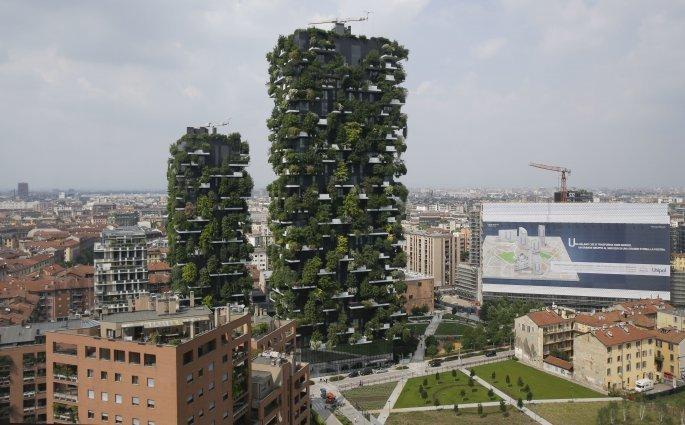 Οι πύργοι Bosco Verticale
