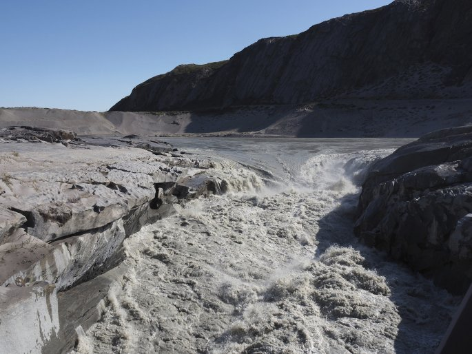 Οι πάγοι λιώνουν στη Γροιλανδία