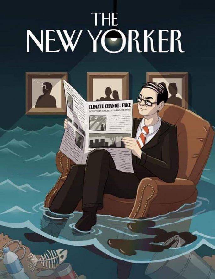 Εξώφυλλο New Yorker