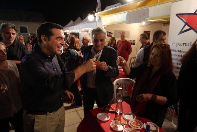 Αλέξης Τσίπρας, φεστιβάλ Σπούτνικ