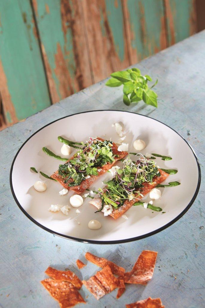 hortopita.jpg Η ιδιαίτερη χορτόπιτα του Γκίκα Ξενάκη βήμα-βήμα