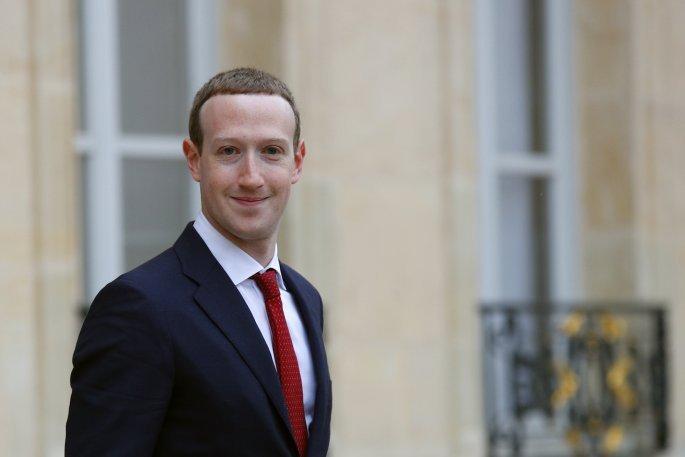 O επικεφαλής του Facebook, Μαρκ Ζάκερμπεργκ