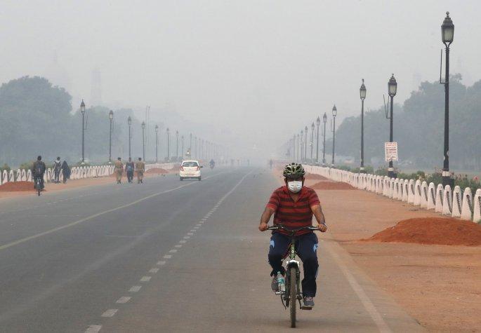 Ατμοσφαιρική ρύπανση στην Ινδία