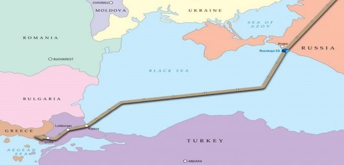 Ο λεγόμενος αγωγός πετρτελαίου Turkishtream αντικαθιστά τον παλιό Southstream