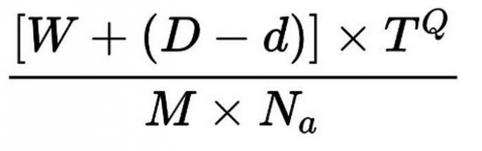 Μαθηματικός τύπος για Blue Monday