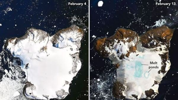 Οι πάγοι λιώνουν στην Ανταρκτική