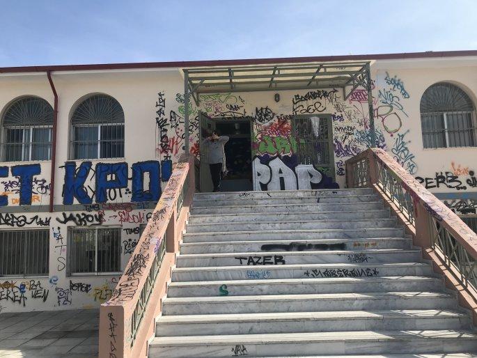 Βανδαλισμός σχολείων στη Θεσσαλονίκη