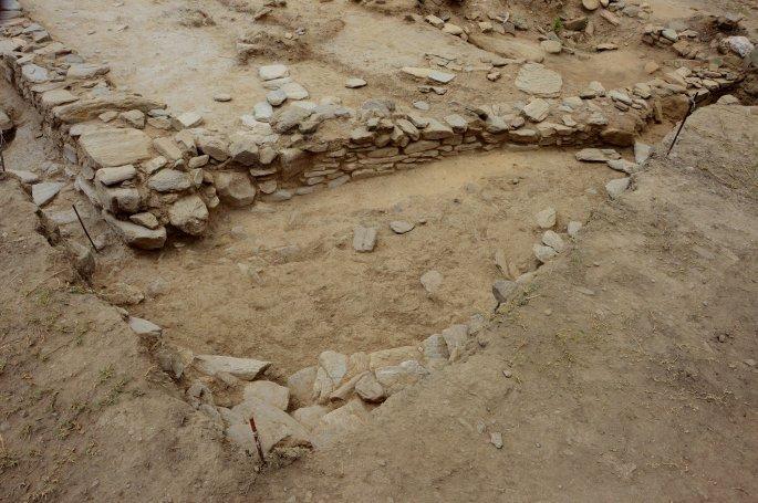 anaskafi1 0 - Aνέλπιστο εύρημα στον μυκηναϊκό οικισμό που ανασκάπτεται στο Μακρυχώρι Λάρισας