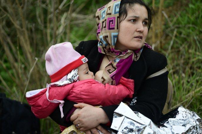 Πρόσφυγες στα σύνορα Ελλάδας - Τουρκίας