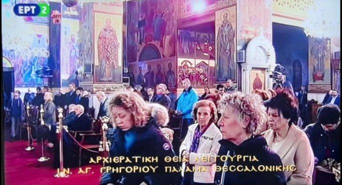 Κοσμοσυρροή στις εκκλησίες της Θεσσαλονίκης