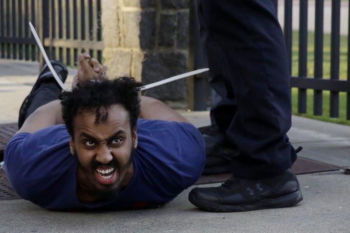 Διαδηλώσεις για τον George Floyd/AP Images
