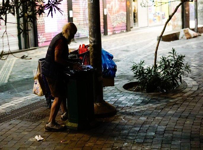 ηλικιωμένος, Αθήνα