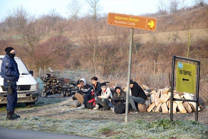 Πρόσφυγες στον Έβρο