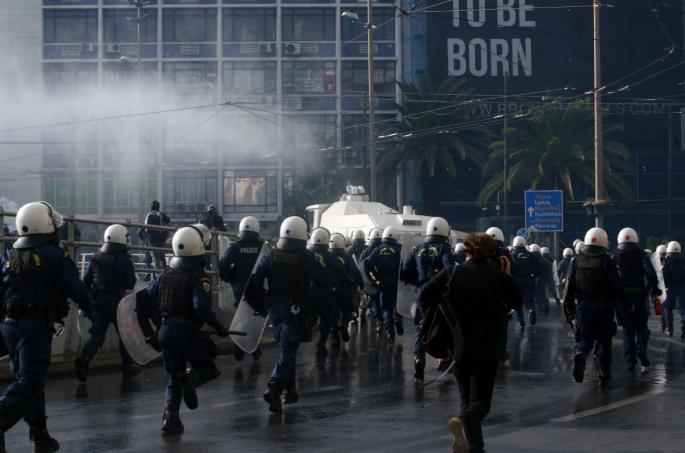 Χιλιάδες αστυνομικοί στην Αθήνα στην επέτειο του Πολυτεχνείου