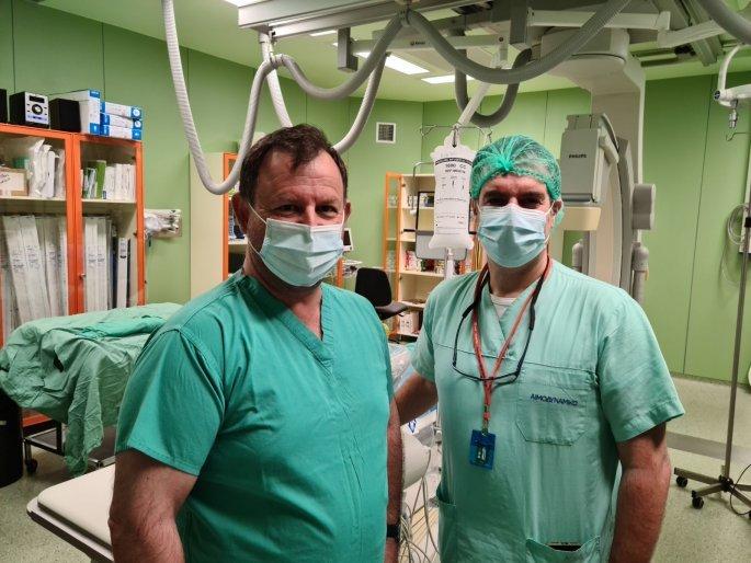 Ο Βασίλης Γιόγιακας στο νοσοκομείο