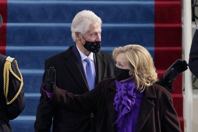 Ο πρώην πρόεδρος των ΗΠΑ, Μπιλ Κλίντον και η σύζυγός του Χίλαρι