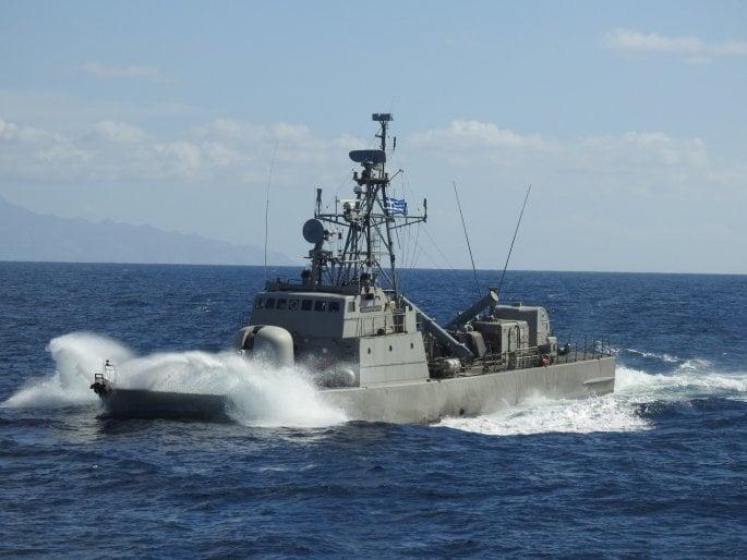 Naval training exercise
