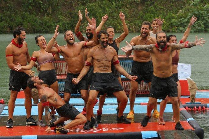 Survivor 4 η κόκκινη ομάδα
