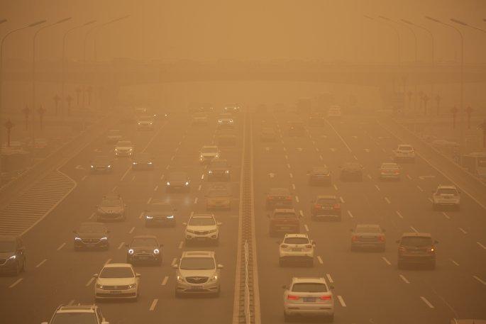 Πεκίνο, αμμοθύελλα