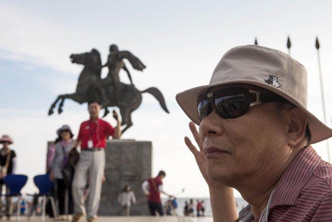 Κινέζοι τουρίστες στη Θεσσαλονίκη