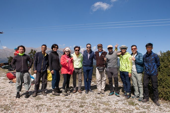 Κινέζοι τουρίστες στον Όλυμπο