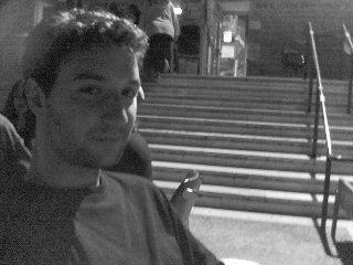 Ο Kristijan Veljanov στο πρώτο του πάρτυ στη Φιλοσοφική (2002/3)
