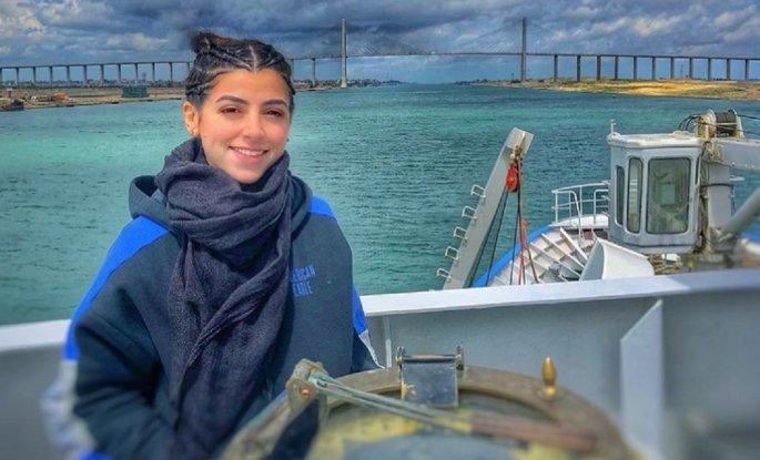 Αιγύπτια πλοίαρχος