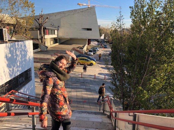 «Ήθελα να κάνω ένα βήμα παραπάνω. Για αυτό ήρθα στην Ελλάδα» λέει στο ethnos.gr η Rula Chalamani