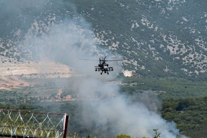«ΚΕΝΤΑΥΡΟΣ 21»: Εντυπωσιακές εικόνες από την στρατιωτική άσκηση Ελλάδας - ΗΠΑ στην Ξάνθη