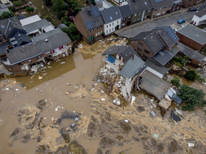 πλημμύρες Γερμανία