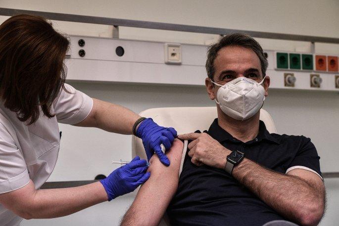 εμβόλιο, Μητσοτάκης