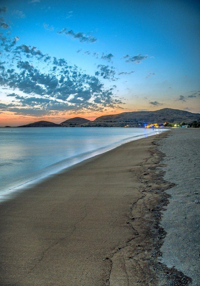 Λήμνος παραλία Πλατύ