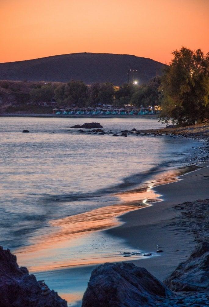 Λήμνος παραλία Αι Γιάννης