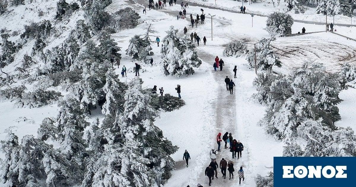 Καιρός – Κλέαρχος Μαρουσάκης: Από 28 βαθμούς σε ολικό παγετό – Πότε αναμένονται χιόνια