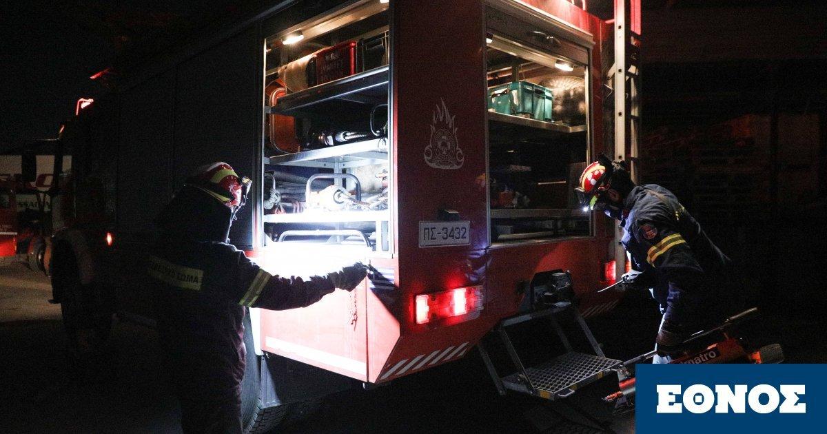 Παγκράτι: Πυρκαγιά σε διαμέρισμα – Μεγάλη επιχείρηση Πυροσβεστικής