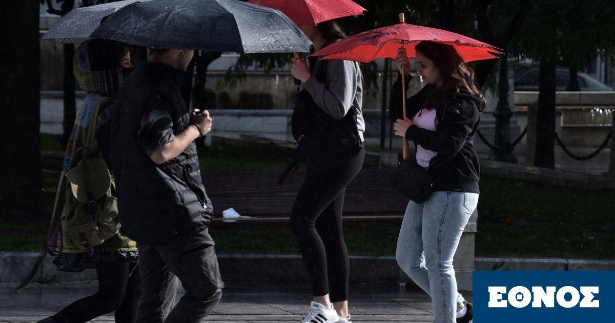 Καιρός: Καταιγίδες και λασποβροχές από Δευτέρα – Πού θα σημειωθούν