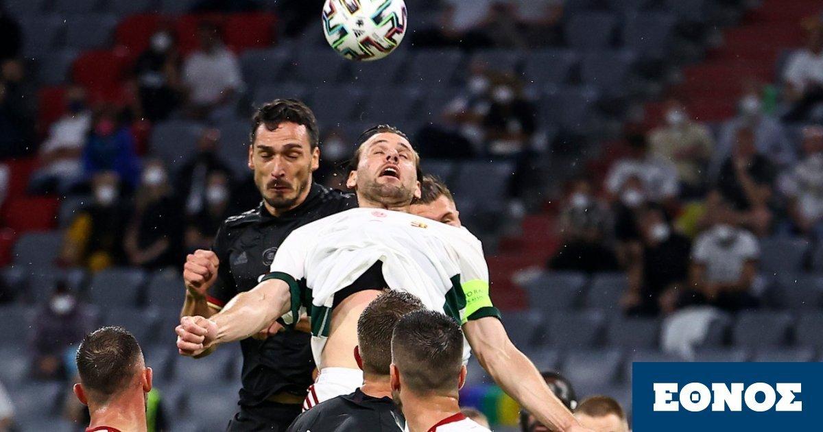 Γερμανία - Ουγγαρία 2-2: Γλίτωσαν το κάζο οι Γερμανοί που πάνε σε «τελικό» με Αγγλία!
