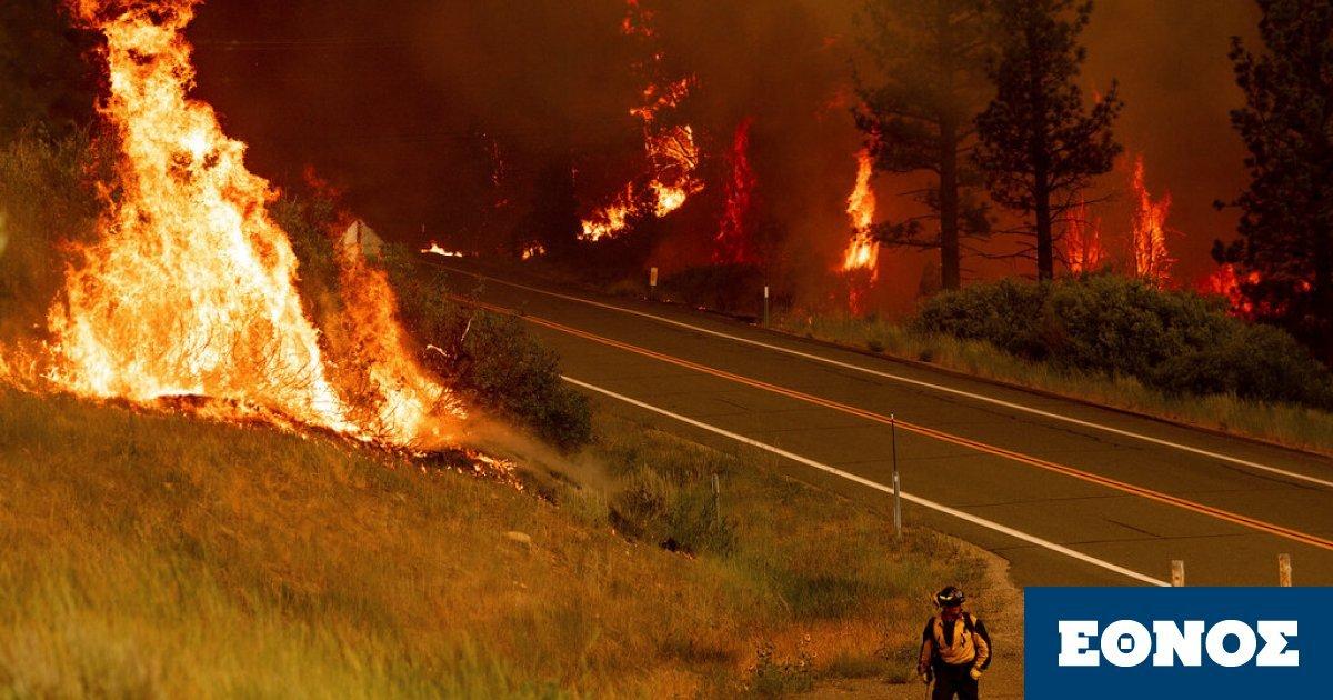 Πυρκαγιές κατακαίουν τις δυτικές ΗΠΑ – Κατηγορείται πάροχος ηλεκτρικού ρεύματος
